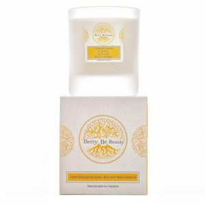 Lemongrass and Basil Essential Oil Soy Wax Candle