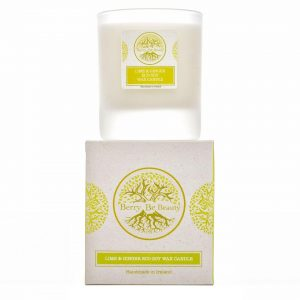 Lime and Ginger Essential Oil Soy Wax Candle