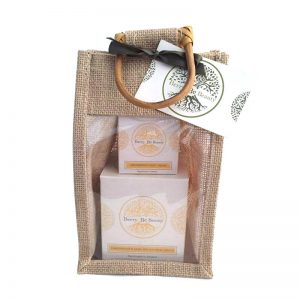 Lemongrass & Basil Candle & Handcream Gift Set
