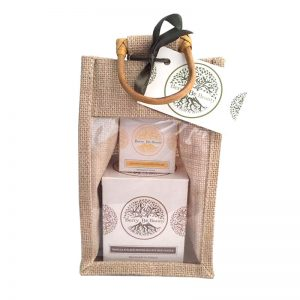 Vanilla & Black Pepper Candle and Lemongrass Hand Cream Gift Set