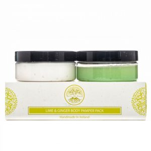 Lime & Ginger Travel Pamper Pack