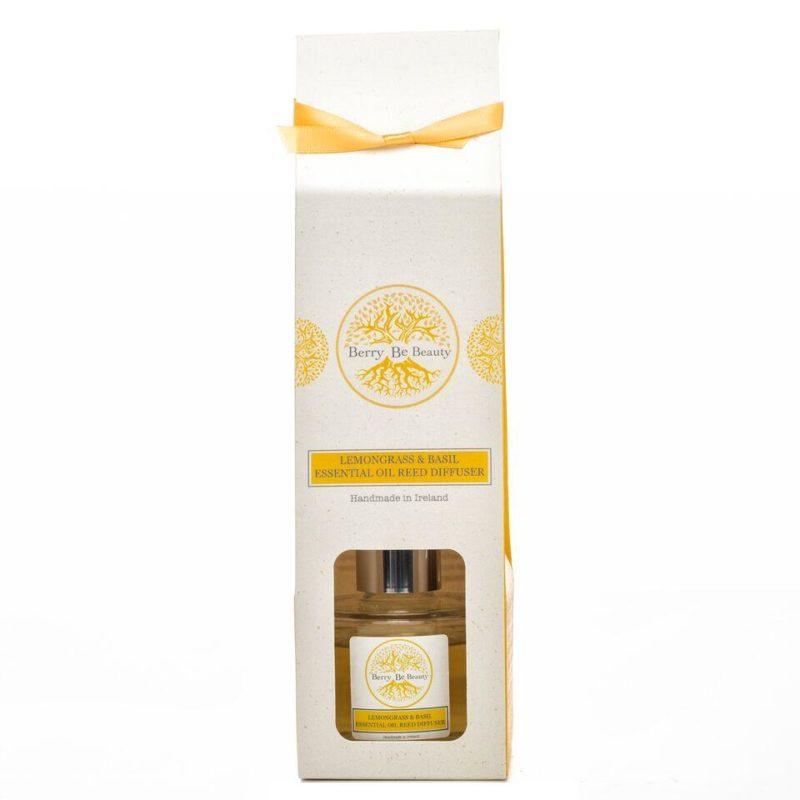 Lemongrass & Basil Essential Oil Reed Diffuser