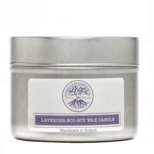 Lavender Essential Oil Soy Wax Travel Candle