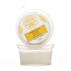 Lemongrass & Basil Essential Oil Soy Wax Melt – 25g