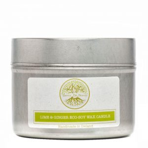 Lime & Ginger Essential Oil Soy Wax Travel Candle