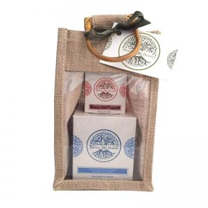 May Chang &Ylang Ylang Essential Oil Candle and Bergamot & Sweet Orange Hand Cream Gift Set