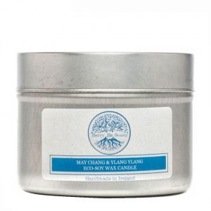 May Chang & Ylang Ylang Essential Oil Soy Wax Travel Candle