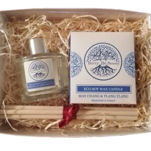 May Chang & Ylang Ylang Essential Oil Candle and Reed Diffuser Gift Set