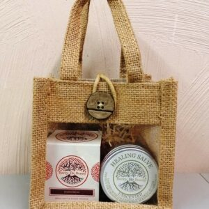 S.O.S. Repairing Bergamot & Sweet Orange Hand Cream & Unscented Healing Salve Gift Set