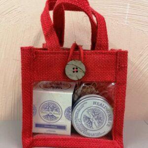 S.O.S. Repairing Lavender Hand Cream & Healing Salve Gift Set