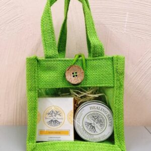 S.O.S. Repairing Lemongrass Hand Cream & Unscented Healing Salve Gift Set