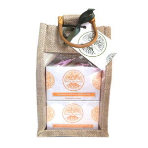 Tangerine Whipped Body Butter and Emulsifying Body Polish Gift Set