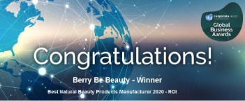 berry be beauty award winner 2020